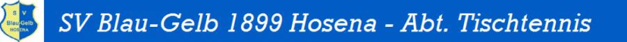 SV Blau-Gelb Tischtennis Hosena